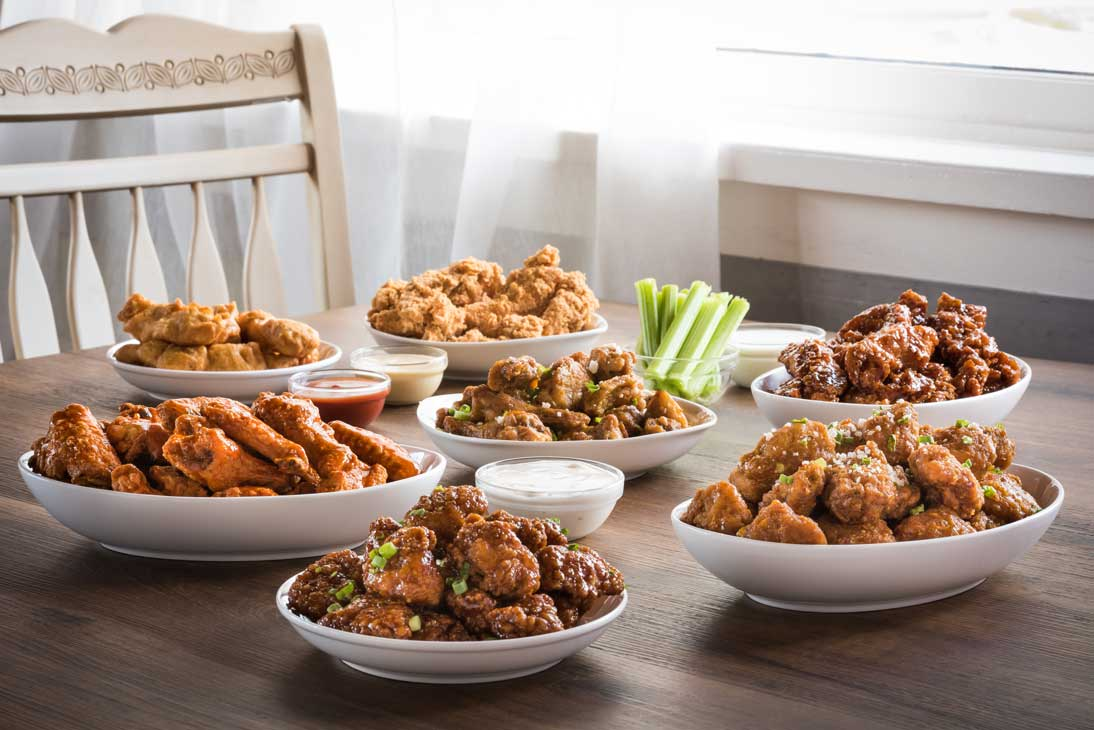 Chicken Wing Platters